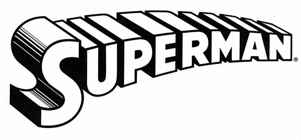 famosissimo logo di Superman disegnato di Glaser