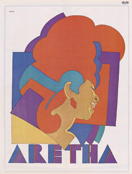Aretha Franklyn by Milton Glaser