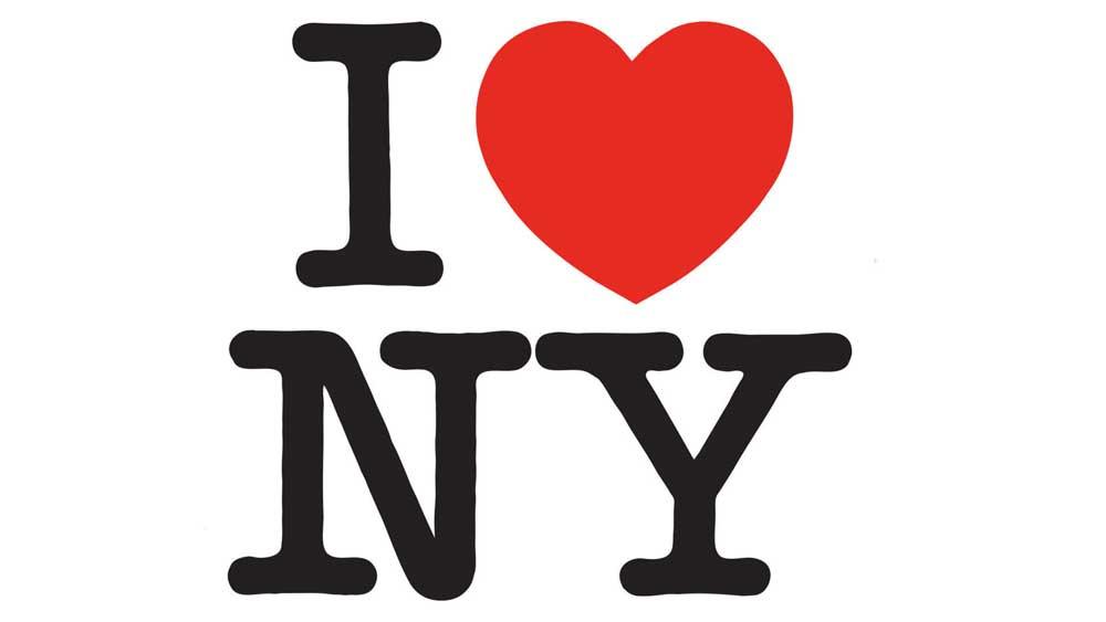 Il logo di I love Ney York di Milton Glaser