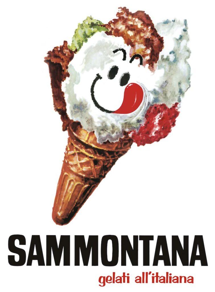 Logo anni 70 di Sammontana